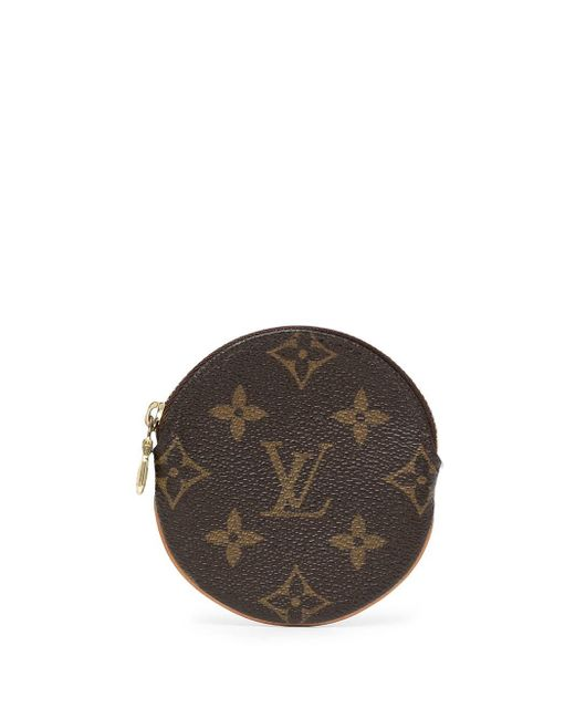 Louis Vuitton 2006 プレオウンド モノグラム Porte Monnaie コインケース Brown
