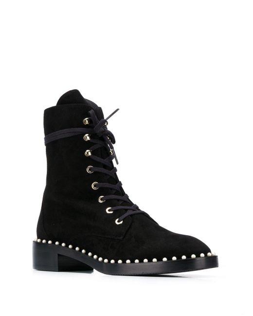 Ботинки Allie Stuart Weitzman, цвет: Black