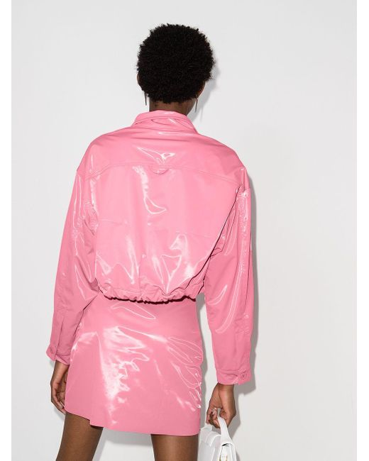 Maisie Wilen クロップドジャケット Pink