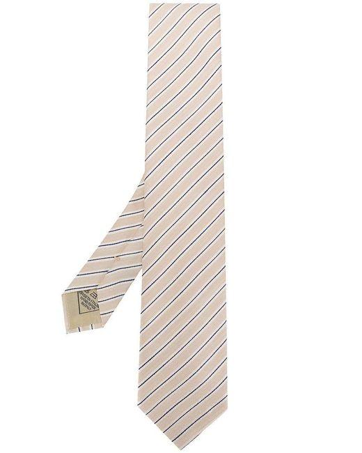 Brioni - Multicolor Corbata con rayas diagonales for Men - Lyst