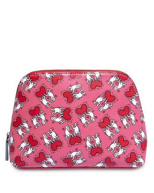 Alice + Olivia Whitney Clutch Bag Red