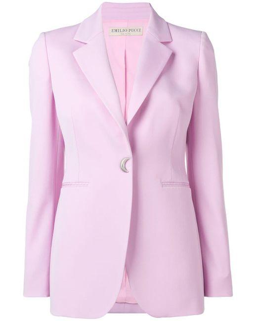 Emilio Pucci ウール ジャケット Pink