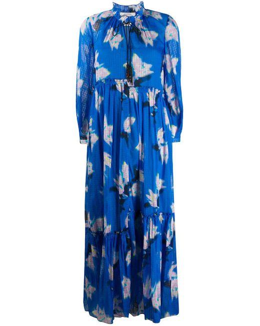 Dorothee Schumacher フローラル ドレス Blue