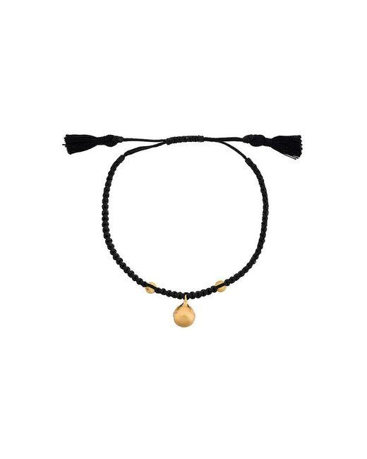 Ileana Makri   Black Beaded Bracelet   Lyst