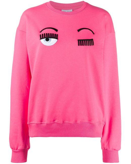 Chiara Ferragni Flirting スウェットシャツ Pink
