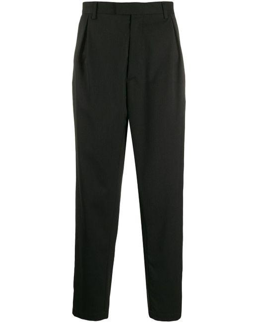 メンズ Just Cavalli ビジュー ボタン パンツ Black
