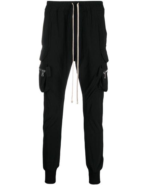 Pantalones tipo cargo Phlegthon Mastodon Rick Owens de hombre de color Black
