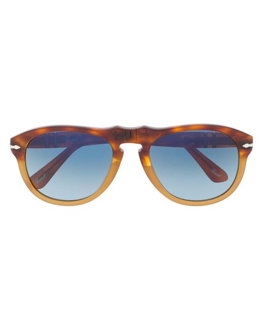 Persol アビエーター サングラス Brown