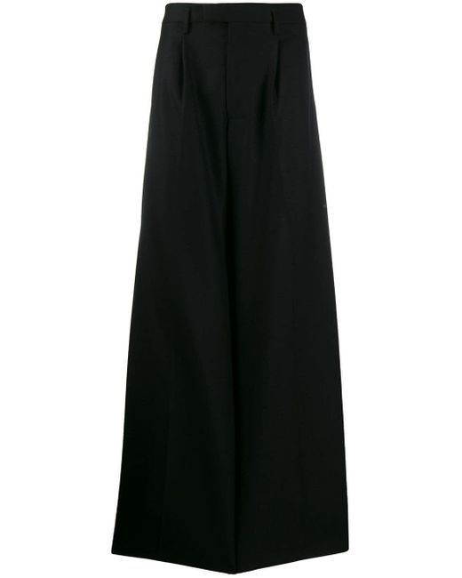 メンズ Bottega Veneta ワイドパンツ Black