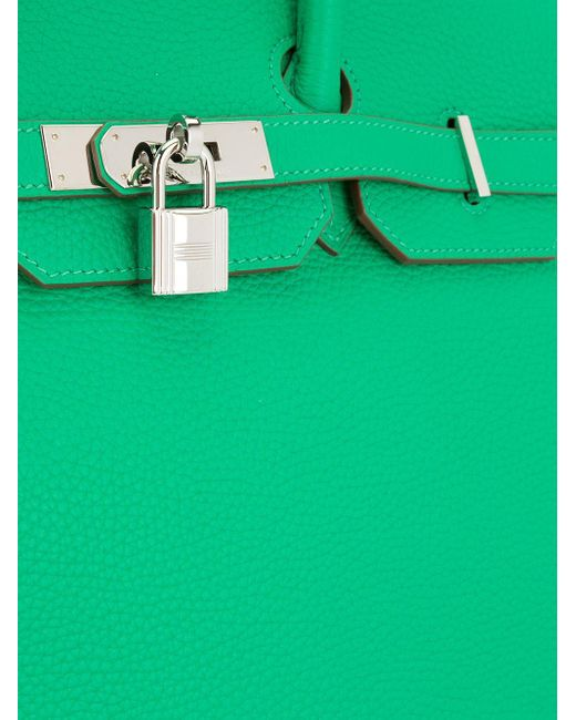 Hermès プレオウンド バーキン 35 ハンドバッグ Green