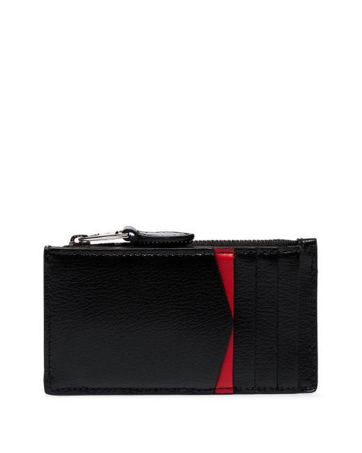 Клатч На Молнии С Заклепками Alexander McQueen, цвет: Black