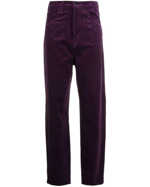Carhartt WIP ベルベット パンツ Purple