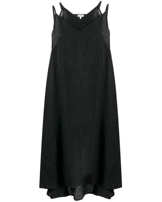 Loewe レイヤード ドレス Black