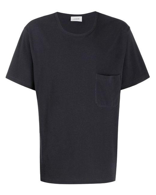 メンズ Lemaire パッチポケット Tシャツ Black