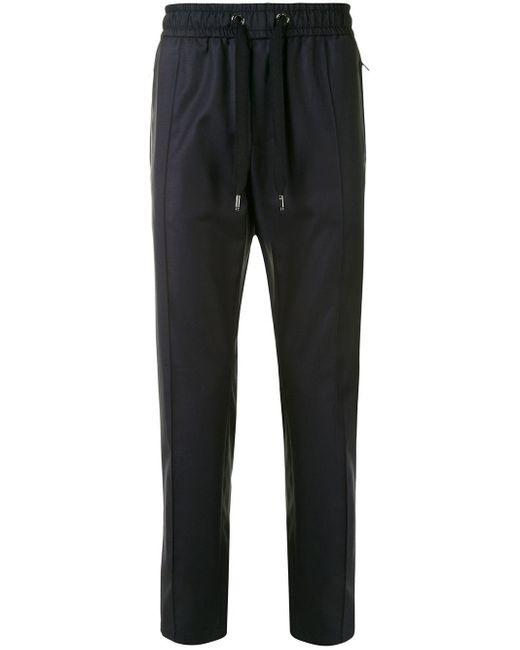 メンズ Dolce & Gabbana テーパード トラックパンツ Black