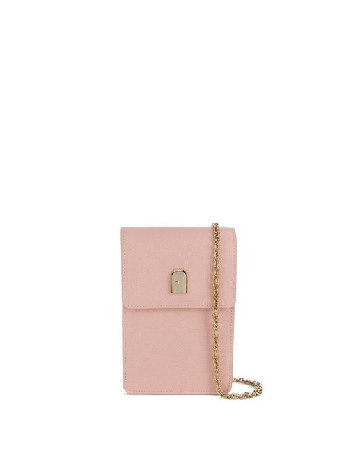 Furla チェーンストラップ ショルダーバッグ Pink