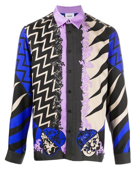 Emilio Pucci X Koché Lupa パターン シャツ Multicolor