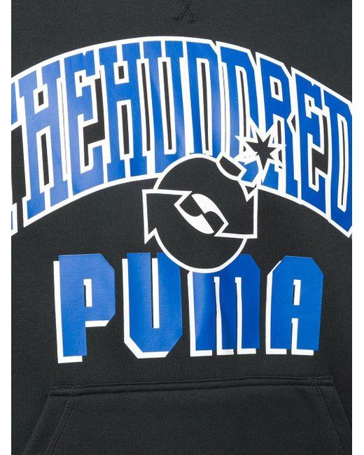メンズ PUMA The Hundreds パーカー Black