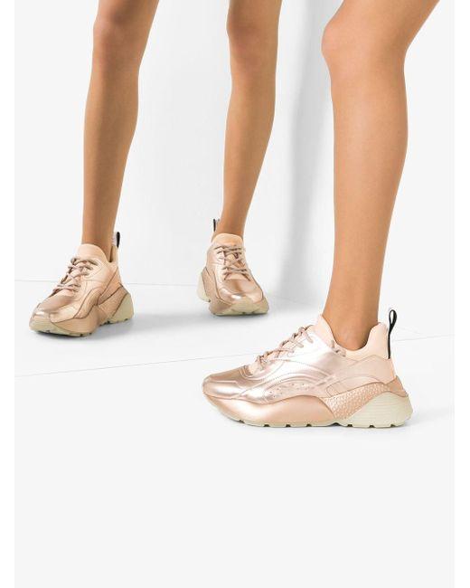 Zapatillas Eclypse Stella McCartney de color Pink