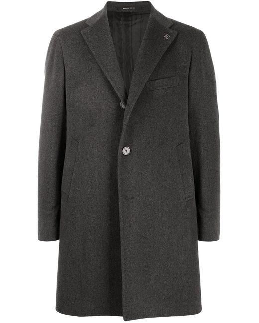 メンズ Tagliatore シングルコート Gray