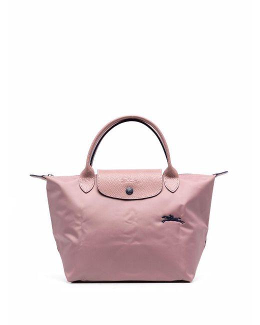 Longchamp Pink Kleiner Le Pliage Shopper