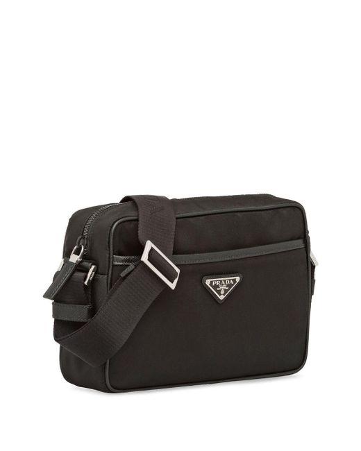 Prada Messengerbag Met Rits in het Black voor heren