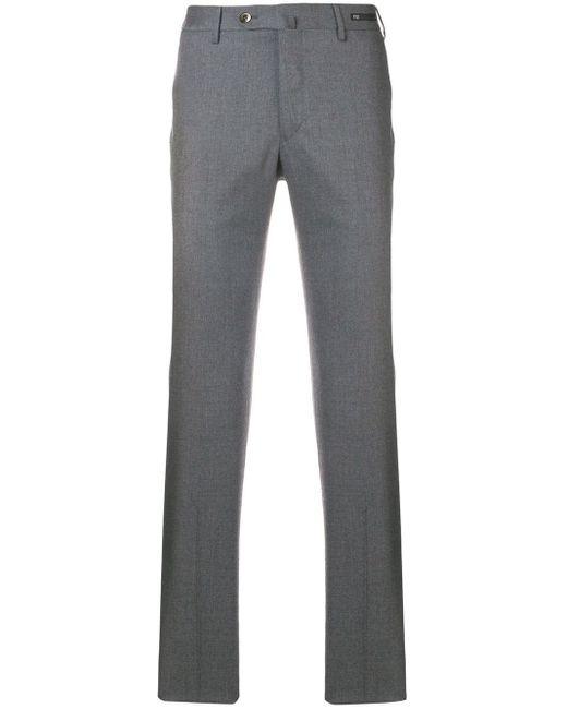 メンズ PT01 スリムフィットパンツ Gray