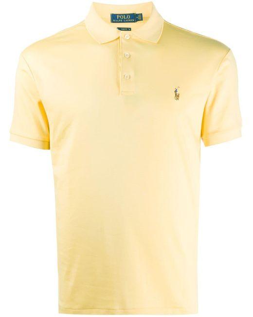 メンズ Polo Ralph Lauren ポロシャツ Yellow