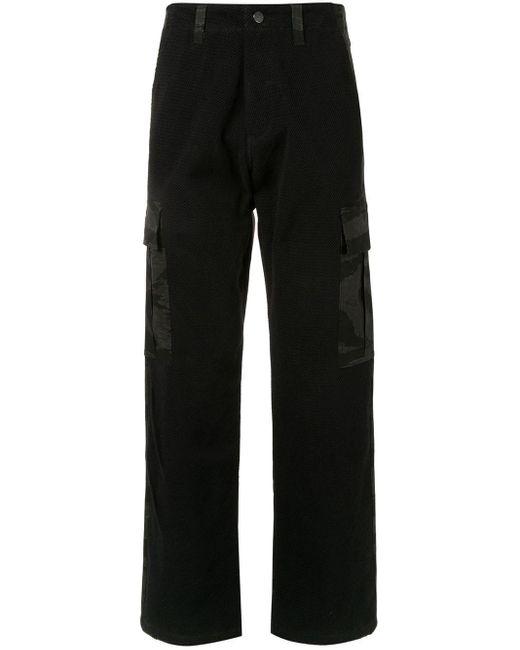 メンズ Siberia Hills Tiger カモフラージュ パンツ Black