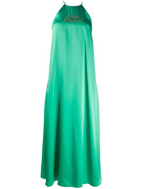 Giada Benincasa ビジュートリム ドレス Green