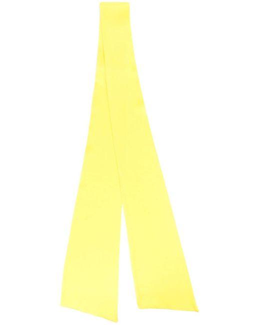 Styland リボン スカーフ Yellow
