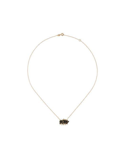 Diane Kordas - Black Pow Diamond Necklace - Lyst