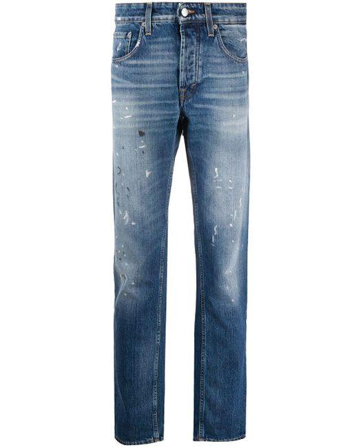 Jeans dritti Keith di Department 5 in Blue da Uomo