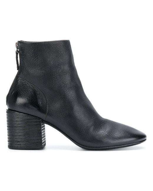 Marsèll - Black Zip Ankle Boots - Lyst