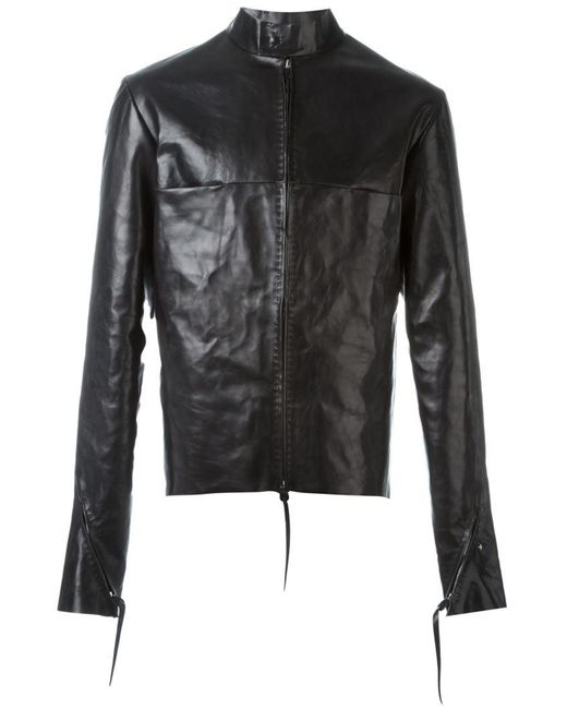 Ma+ - Black Zipped Up Jacket for Men - Lyst