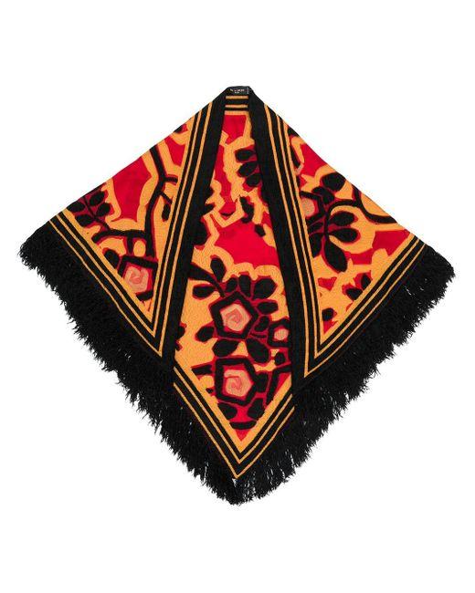 Etro フリンジヘム スカーフ Multicolor