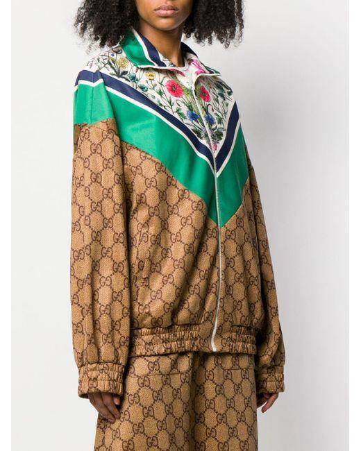 Gucci テクニカル ジャージー ジャケット Multicolor