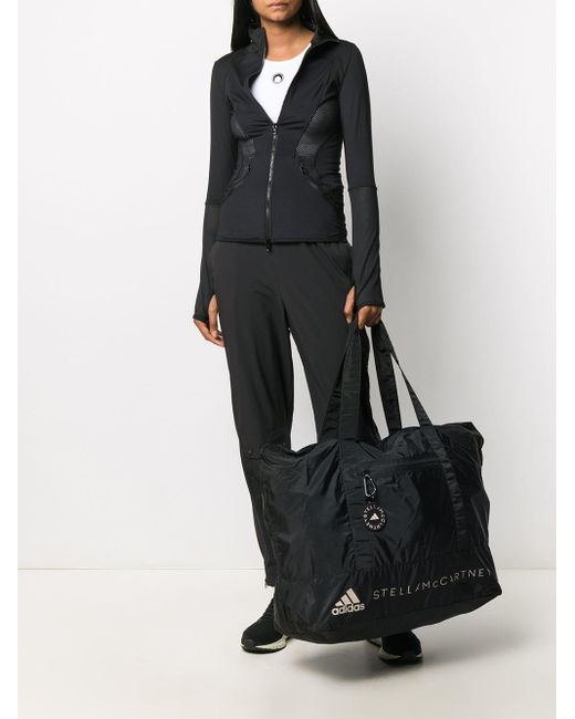 Adidas By Stella McCartney ロゴ ハンドバッグ Black
