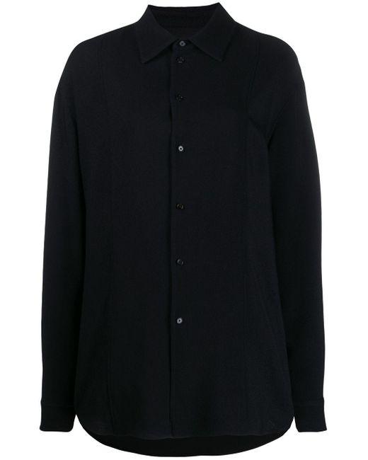 Jil Sander オーバーサイズ シャツ Black