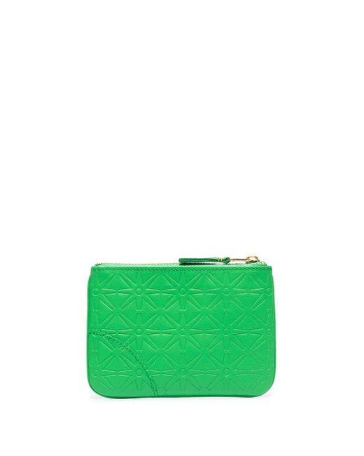 Клатч С Тисненым Узором Comme des Garçons для него, цвет: Green