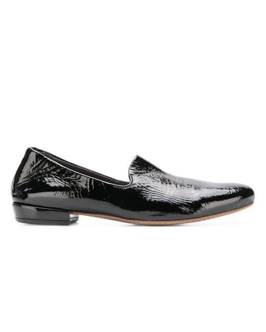 Marsèll Loafers Met Ronde Neus in het Black