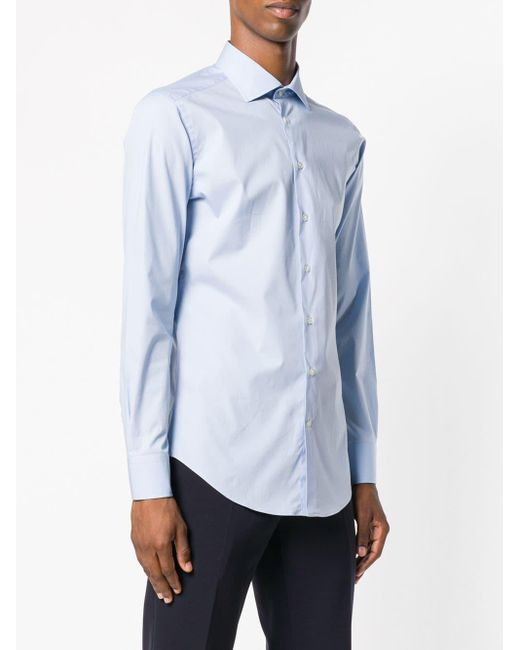 Long-sleeve Shirt Etro для него, цвет: Blue