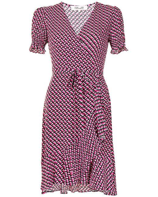 Diane von Furstenberg Emilia ドレス Pink