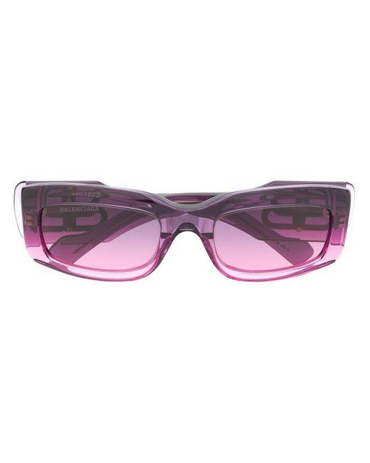 Balenciaga スクエアフレーム サングラス Pink