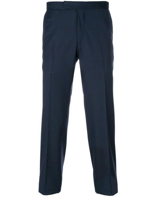 メンズ Fashion Clinic Timeless クロップド テーラードパンツ Blue