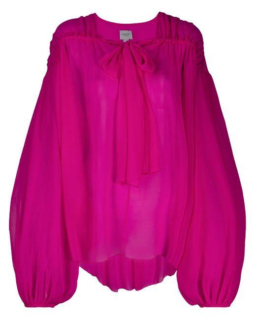 Giambattista Valli オーバーサイズ ブラウス Pink