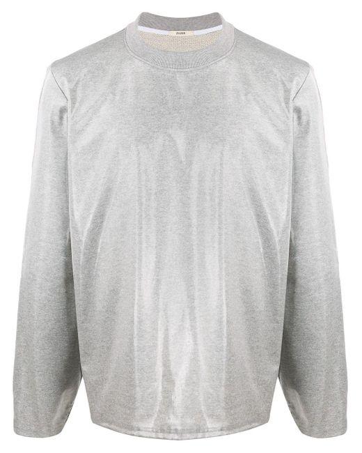 メンズ Zilver Aqua スウェットシャツ Gray
