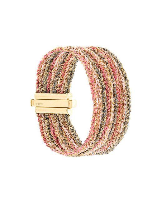 Carolina Bucci - Metallic 18kt Gold 9 Strand Lazy Lucky Bracelet - Lyst