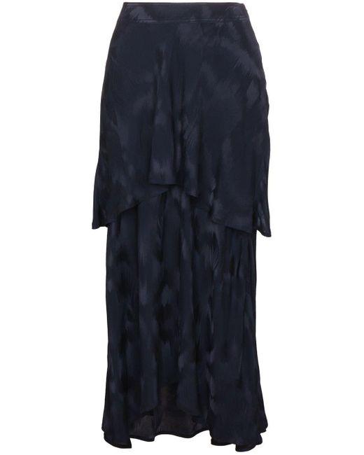 Sies Marjan Paris レイヤードスカート Blue
