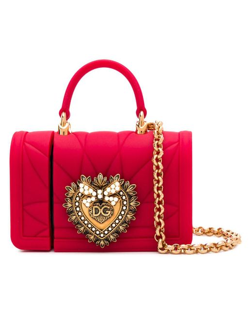 Dolce & Gabbana Devotion Airpods ケース Red